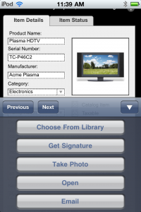 Container Field Options on FileMaker Go